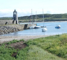 Port Logan Beach, Rhins of Galloway, South West Scotland